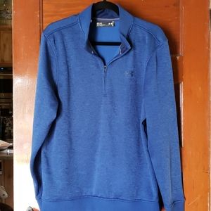 Under Armour Storm Pull Over Jalf Zip Size M EUC